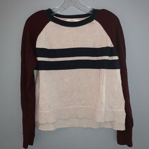 Rugby Stripe Knit Sweater